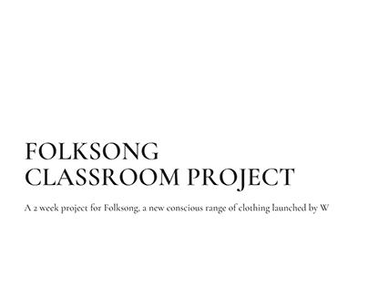 Classroom project- Folksong by W (A womenswear range)