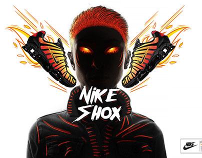 Nike Shox (Sunrise Warm edition)