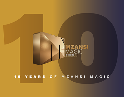 10 Years Of Mzansi Magic Campaign