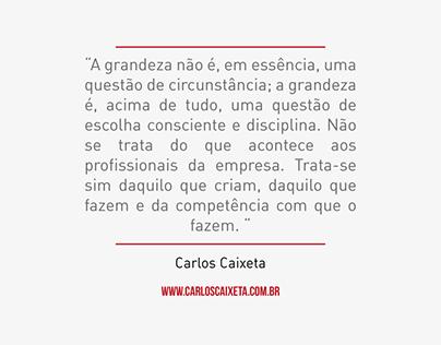 Frases da Semana - Carlos Caixeta