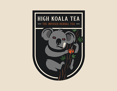 High Koala Tea | THC Infused Herbal Tea Branding