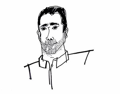Portrait of Gordon Guillaumier