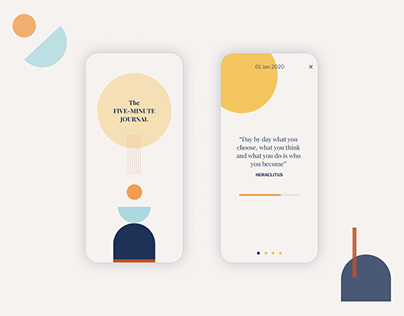The 5-minute Journal Mobile App