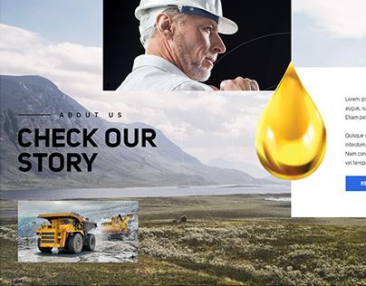 Oil distribution company