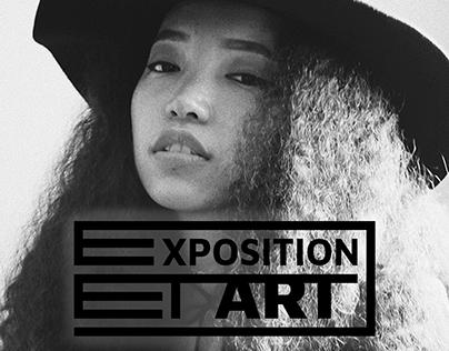 Exposition et art   Isologotipo