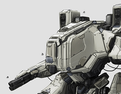 Various Mechs and Vehicles