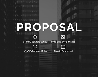 PROPOSAL   A Free PowerPoint Presentation Template