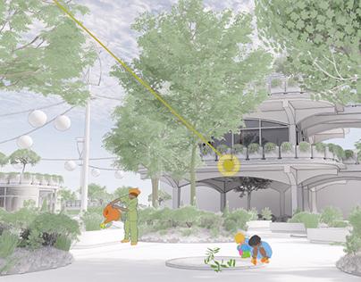 Envisioning a Utopian-Dystopian Neighborhood