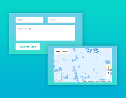 Simple Contact Form Design