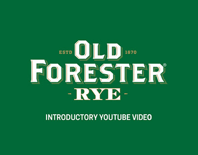 Old Forester YouTube Advertisement