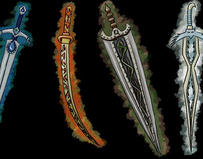 Swords of Elements