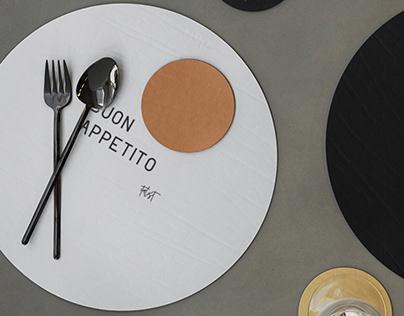 Brand and VIS of the Italian restaurant chain ITALIST