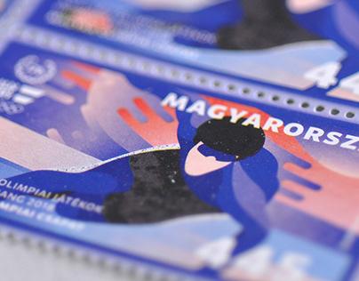 Winter Olympics stamp