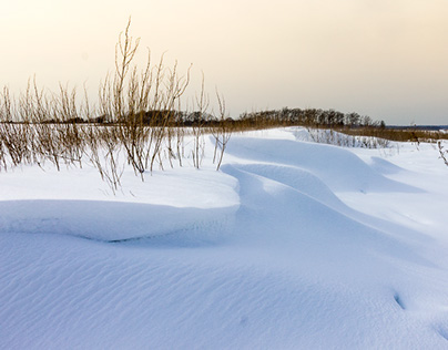 Hammonasset Beach in the Winter