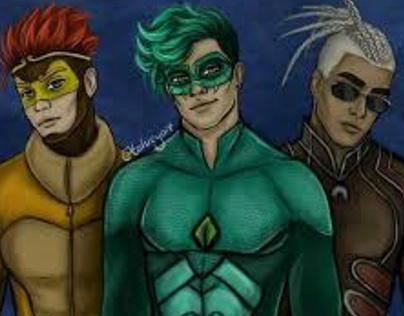 Guy superheroes from miraculous ladybug