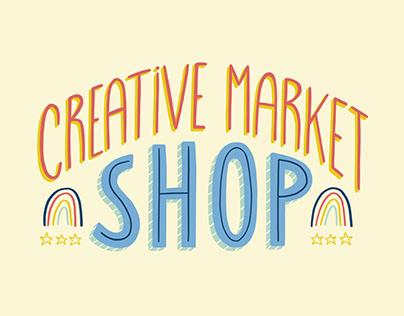 Spring & Floral bundles on Creative Market