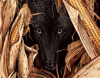 Wolf in Corn