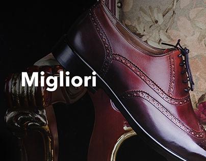 Разработка дизайна каталога производителя обуви