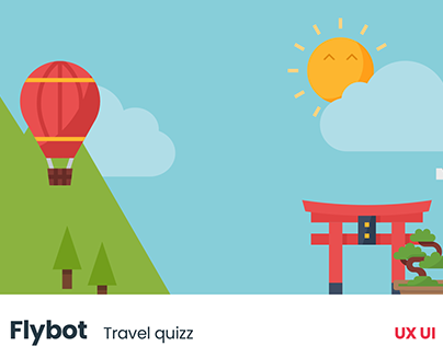 Flybot ● Travel Quizz ● UX UI