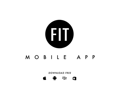 FIT Mobile App - Redesign Promo