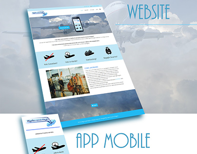 Rights and Flights sito web/app mobile