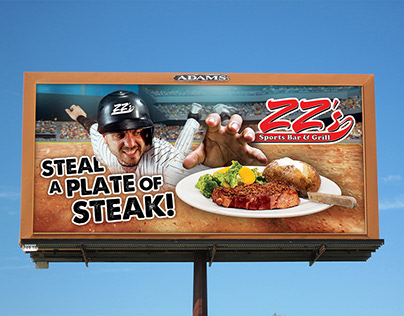 ZZ's Bar & Grill Billboards
