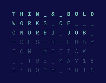 Poster Explorations 2017–2018