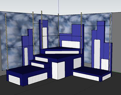Set Design, Working The Musical, Harriton High School