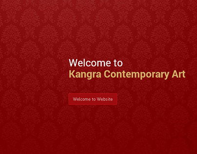 Website Designing for Kangra Contemporary Art