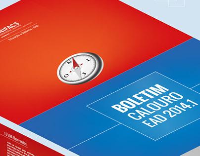 Brochure / Boletim Calouro EAD 2014.1 UNIFACS