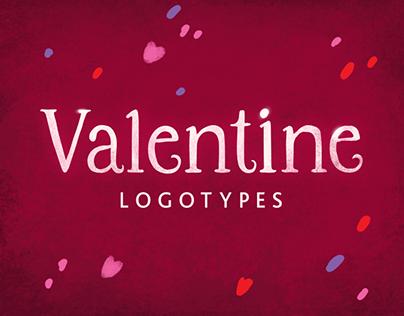 Valentine Logotypes