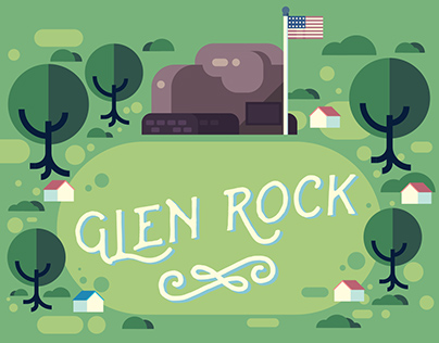 Glen Rock Map