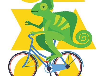 Oaxaca Bike Poster
