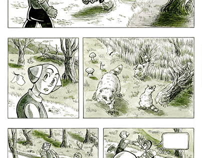 Comic / Graphic Novel Illustrations