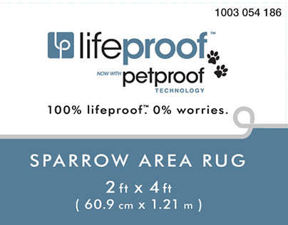 lifeproof™ area rugs