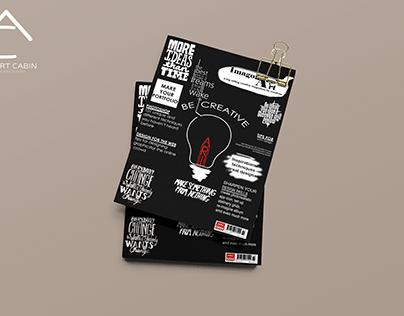 Magazine Cover - Typography