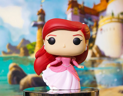 POPTOGRAPHY - Disney Princess Series