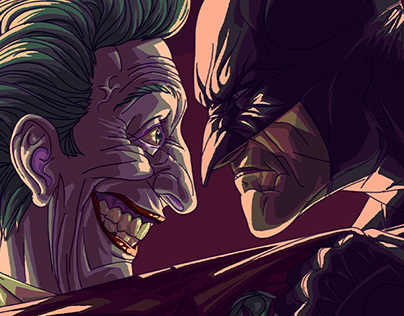 The Batman and The Joker.
