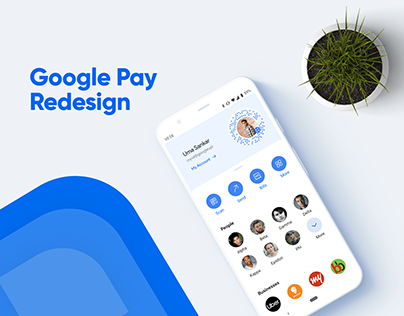 Google Pay App Redesign