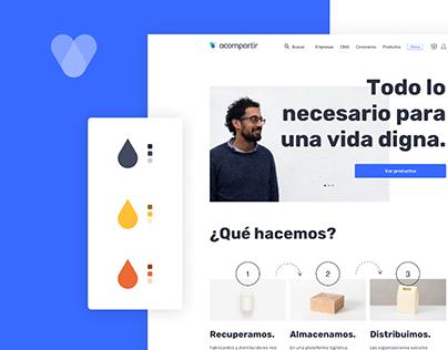 Web design - Acompartir