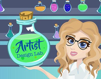 Website Launch! Artist Design Lab Illustration website