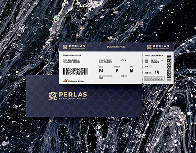 Perlas by Philippine Airlines Brand Identity