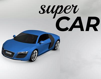 Super Car Logo Sting