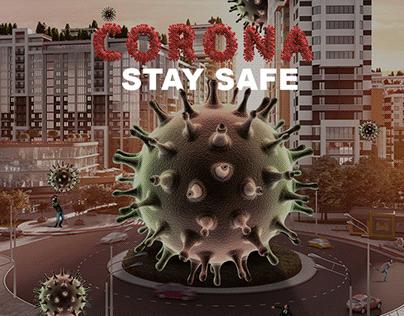 Corona Virus artwork