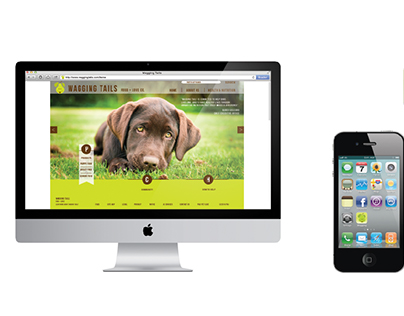 Wagging Tails - Web & App Design