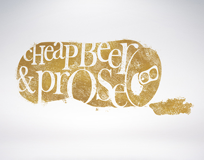 Cheap Beer & Prose (Logo)