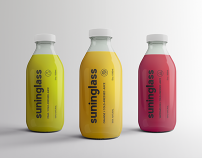 Juice Bottle Packaging Mock-Ups Vol.2