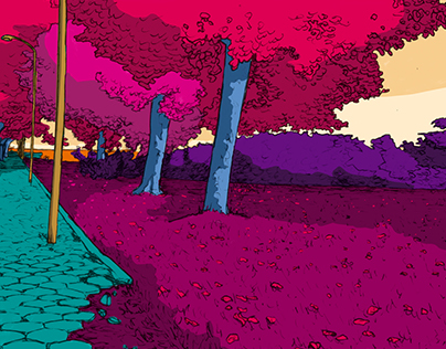 Oddly Colored Landscape Collection