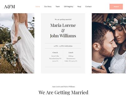 Wedding Anniversary Website Created With Elementor Pro!