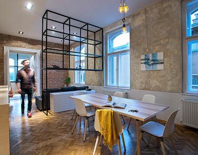HEROES - interior design / 2017